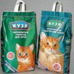 Наполнители туалета для кошек